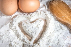 Flour, eggs and Love